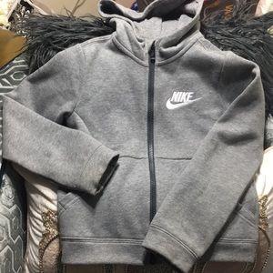 Nike boys zip Hoodie